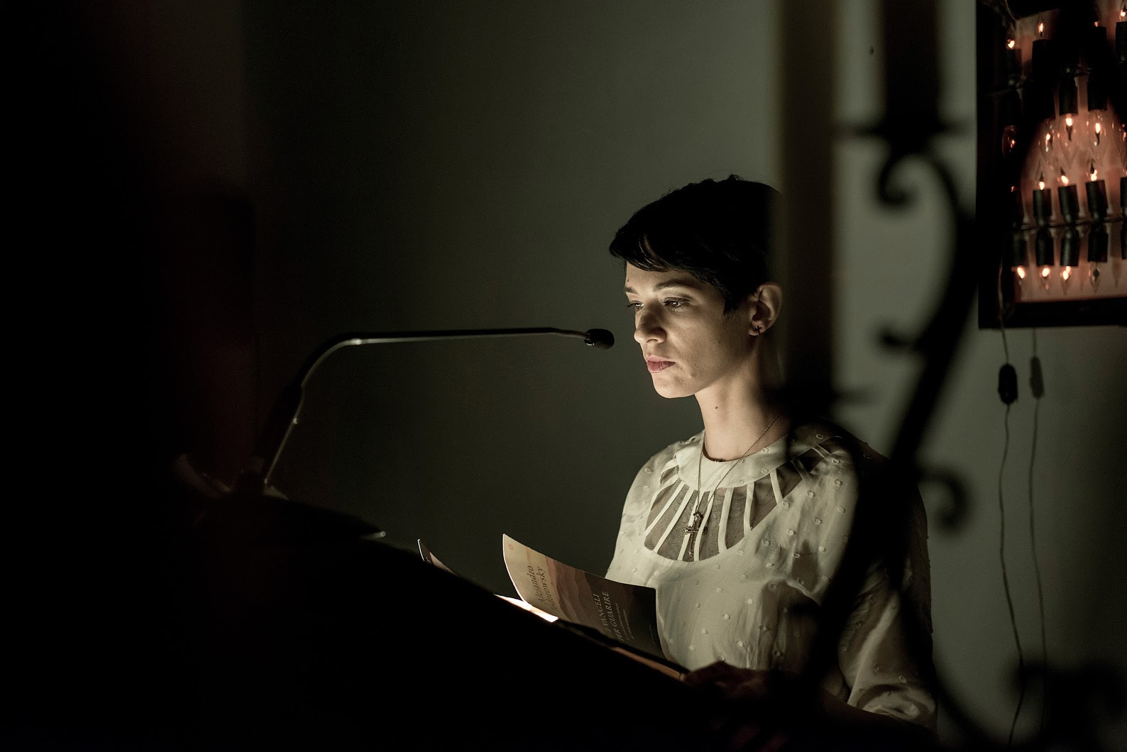 Ludovica Amati Trabalho de Concentracao presentation  fw15 ph.andreabuccella 18 Asia Argento