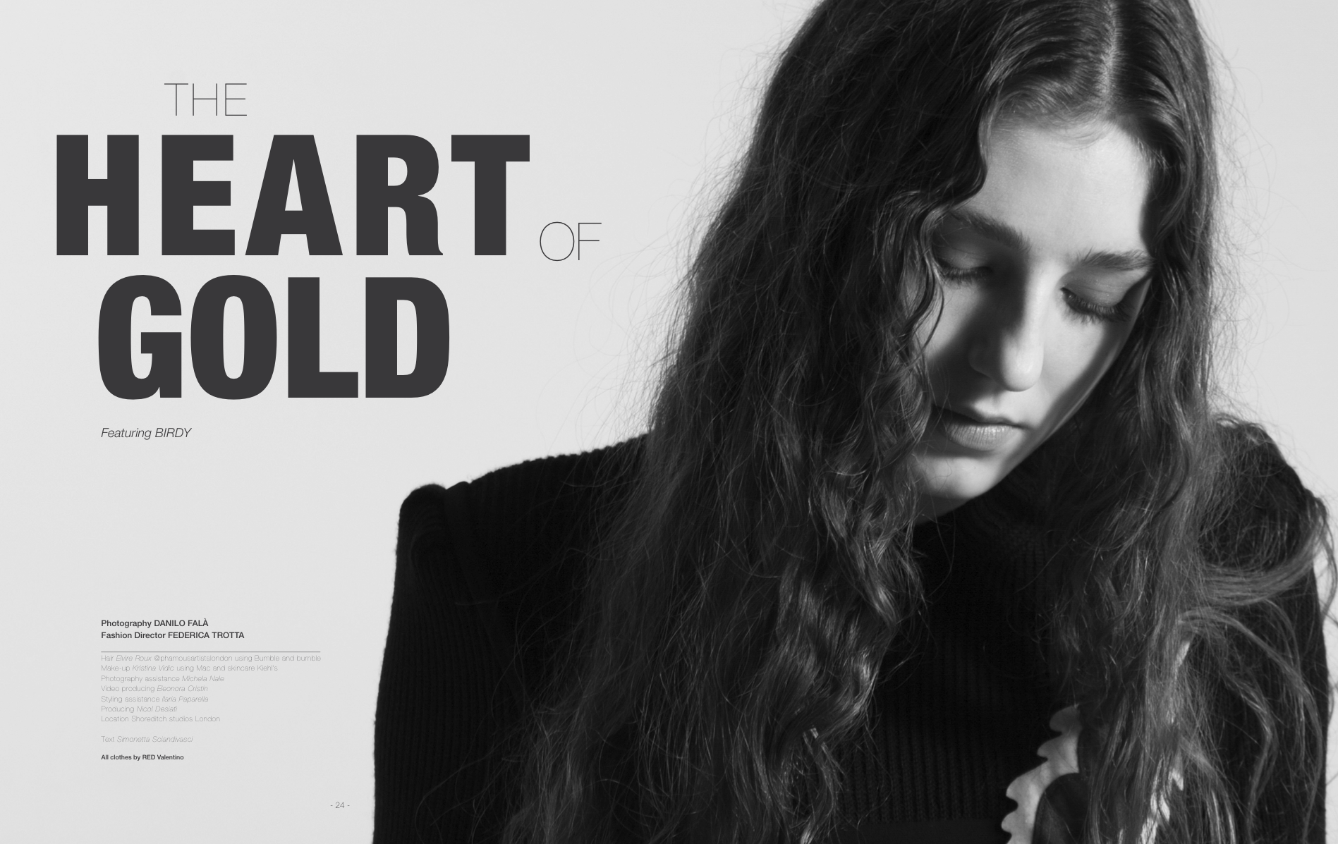 COVER STORY – MIA LE JOURNAL ISSUE N°2 // THE HEART OF GOLD